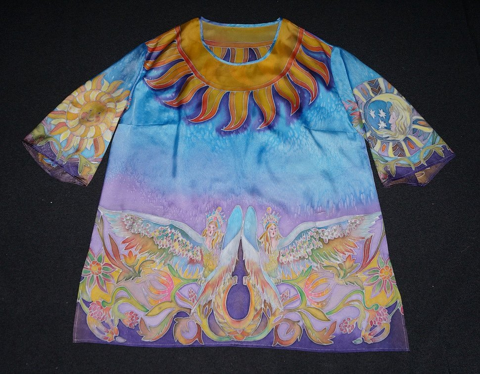 """Рубашка """"Берегиня"""" (холодный батик).JPG"""
